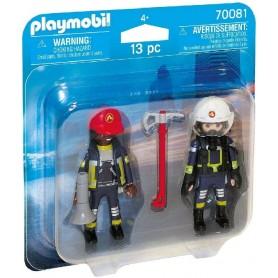 PLAYMOBIL - DUO PACK BOMBEROS 70081