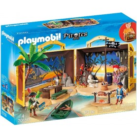 ISLA PIRATA MALETIN - PLAYMOBIL PIRATES 70150