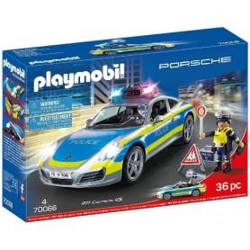 PORSCHE 911 CARRERA 4S POLICIA - PLAYMOBIL 70066
