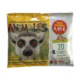 PACK AHORRO 20 SOBRES ANIMALES 2020