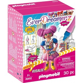 ROSALEE - COMIC WORLD PLAYMOBIL 70472