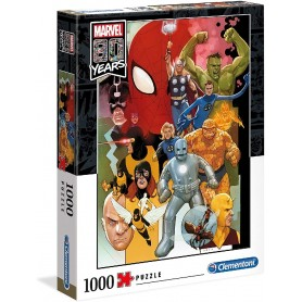 PUZZLE 1000 PIEZAS MARVEL 80 YEARS