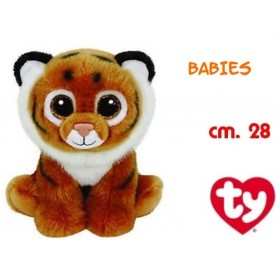 PELUCHE TY BEANIE BABIES TUNDRA -TIGRE MARRON 15CM