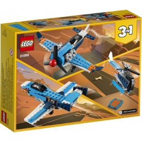 AVION DE HELICE LEGO 31099