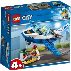POLICIA AEREA: JET PATRULLA LEGO 60206