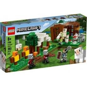 EL PUESTO DE SAQUEADORES LEGO MINECRAFT 21159