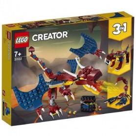 DRAGON LLAMEANTE LEGO 31102