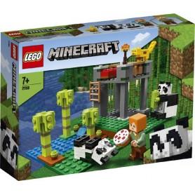EL CRIADERO DE PANDAS LEGO MINECRAFT 21158