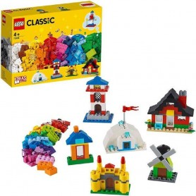 LADRILLOS Y CASAS LEGO 11008