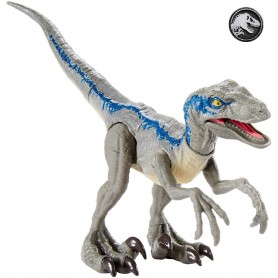 JURASSIC WORLD - VELOCIRAPTOR BLUE ATAQUE SALVAJE