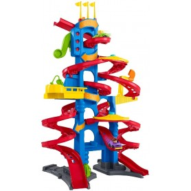 FISHER PRICE - LITTLE PEOPLE GARAJE COCHELANDIA