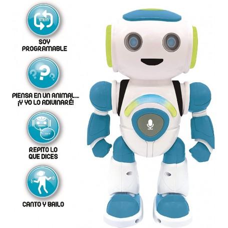 POWERMAN JR. ROBOT PROGRAMABLE CON QUIZ, MÚSICA Y