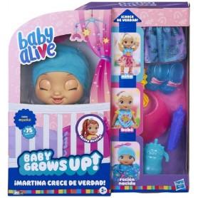 BABY ALIVE- MARTINA CRECE DE VERDAD