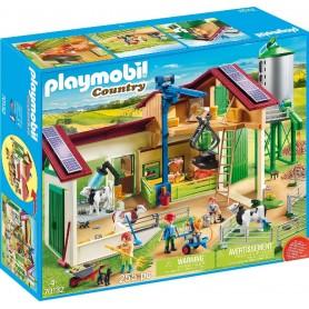 GRANJA CON SILO PLAYMOBIL 70132