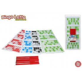 SET 180 CARTONES + 6 ROTULADORES BINGO