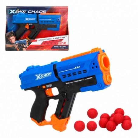 X-SHOT CHAOS - PISTOLA METEOR +14A