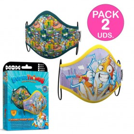 PACK 2 MACARILLAS SUPER ZINGS 3-5 AÑOS
