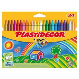 920301 - PLASTIDECOR - ESTUCHE 24 UDS