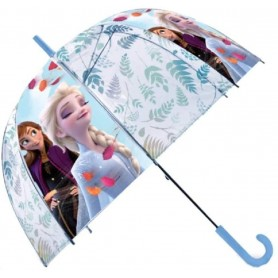 PARAGUAS BURBUJA MANUAL FROZEN DISNEY 47CM