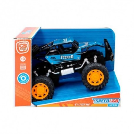 COCHE FRICCION METAL OFF ROAD - SPEED & GO 2/S