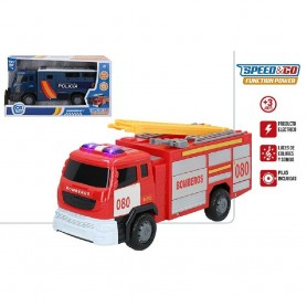 VEHICULO ELECTRICO SONIDOS EMERGENCY - SPEED & GO