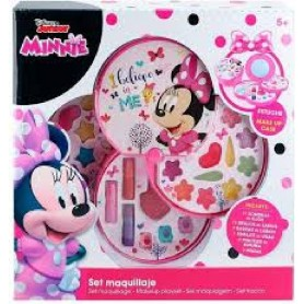 SET MAQUILLAJE 3 NIVELES - MINNIE