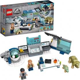 LABORATORIO DEL DR. WU: FUGA DE LAS CRÍAS DE DINOS LEGO 75939