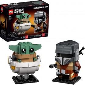 EL MANDALORIANO Y EL NIÑO LEGO 75317 STAR WARS
