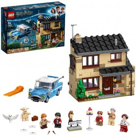 LEGO HARRY POTTER NÚMERO 4 DE PRIVET DRIVE SET