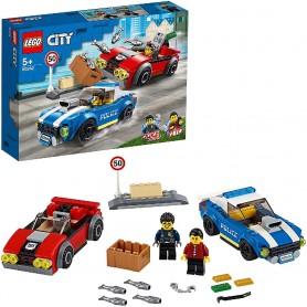 POLICÍA: ARRESTO EN LA AUTOPISTA LEGO CITY 60242