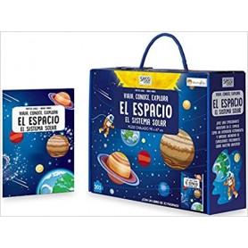 LIBRO + PUZZLE ESPACIO SISTEMA SOLAR