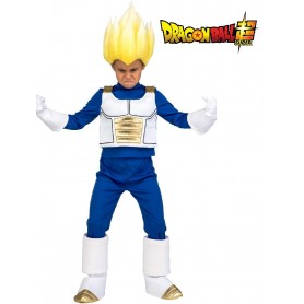 DRAGON BALL - DISFRAZ INFANTIL VEGETA SAIYAN 10-12