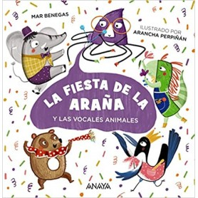 LA FIESTA DE LA ARAÑA. ANAYA