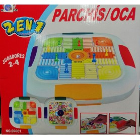 PARCHIS Y OCA