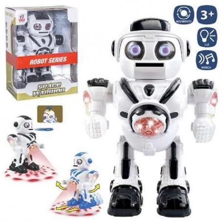 ROBOT PROYECTOR LANZAFICHAS 25 CM