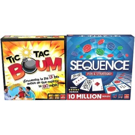 JUEGOS - PACK TIC TAC BOUM + SEQUENCE