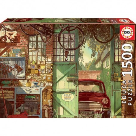 PUZZLE 1500 PIEZAS OLD GARAGE, ARLY JONES