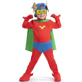 DISFRAZ SUPERTHING KID FURY SUPERZINGS 4-5 AÑOS