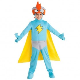 DISFRAZ SUPERTHINGS - KID KAZOOM SUPERZINGS 4-5 AÑOS