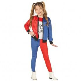 DISFRAZ DANGEROUS GIRL HARLEY 3-4 AÑOS