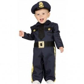 DISFRAZ POLICIA BABY 6-12 MESES