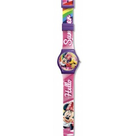 RELOJ ANALOGICO MINNIE DISNEY