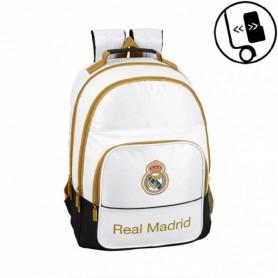 MOCHILA REAL MADRID DOBLE 42CM