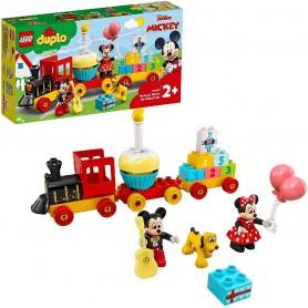 TREN DE CUMPLEAÑOS DE MICKEY Y MINNIE - LEGO 10941
