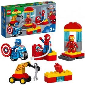 LABORATORIO DE SUPERHÉROES LEGO DUPLO 10921