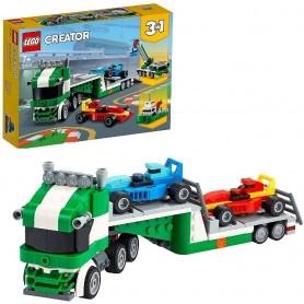 TRANSPORTE DE COCHES DE CARRERAS - LEGO 31113 CREATOR