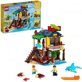 CASA SURFERA EN LA PLAYA - LEGO 31118 CREATOR 3EN1