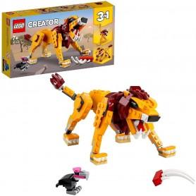 LEÓN SALVAJE - LEGO 31112 CREATOR 3EN1