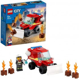 FURGONETA DE ASISTENCIA DE BOMBEROS LEGO CITY 60279