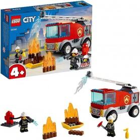 CAMIÓN DE BOMBEROS CON ESCALERA - LEGO CITY 60280